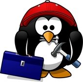 working penguin pic