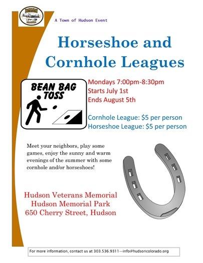 horseshoe/cornhole flier