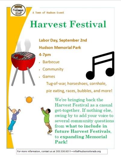 harvest fest flier