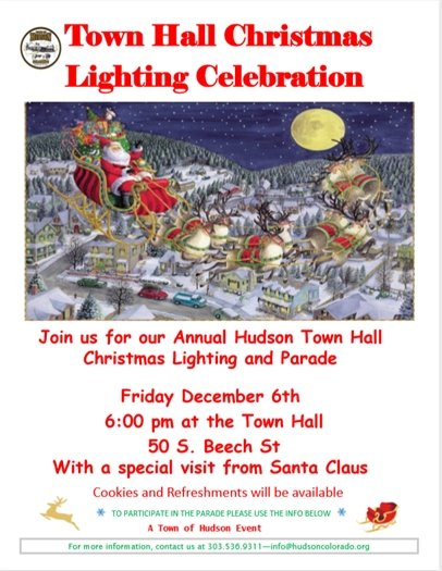 christmas lighting flier