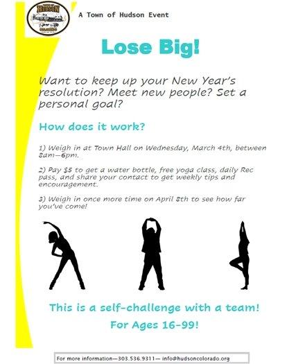 lose big flyer