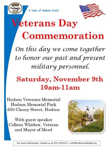 veterans day flier
