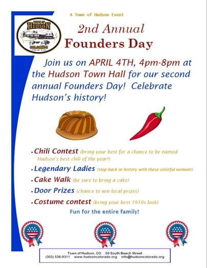 founders day flier